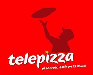 Logo de la pizzería Telepizza, que lanzó una OPV de salida a bolsa hace pocos meses