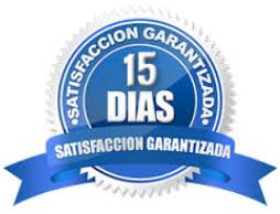 Garantía de devolución de 15 días